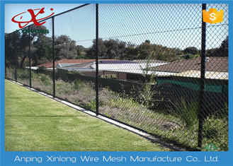 1.8 - 4.5mm Diameter Chain Link Fence With 35 * 35 Aperture For Playground
