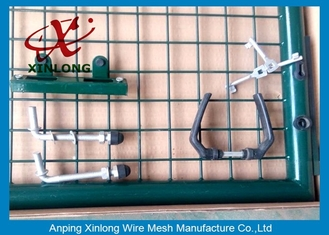 چین Professional Wire Mesh Gate , Durable Chain Link Fence Gate Easy Install تامین کننده