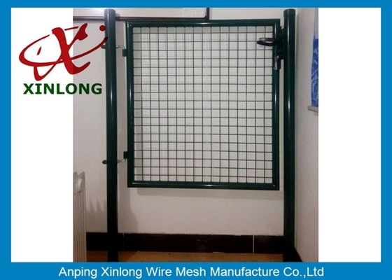 چین Circular / Square Shape Welded Wire Gate Panels With 1.5mm Thickness Post تامین کننده