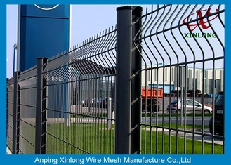 Hot dipped galvanized 3D bending welded wire mesh fence with cheap price