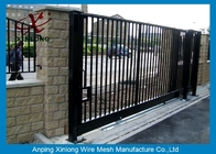 چین Wrought Iron Automatic Security Gates Commercial For Living Quarter XLF-03 کارخانه