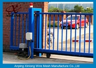 چین Various Size Residential Sliding Gates , Industrial Sliding Gates Safety کارخانه