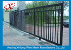 چین Professional Automatic Sliding Gates Galvanized Pipe Material 1m Height کارخانه