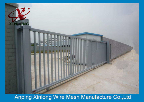 2m Height Automatic Sliding Gates For Driveways High Performance RAL 256 Colors